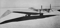 Northrop N1-M model airplane plan
