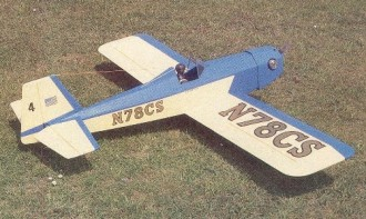 Ol Bluenose model airplane plan