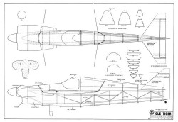 Ole Tiger model airplane plan