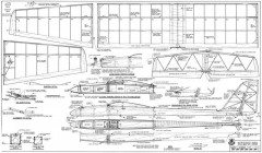 Olympic 650 model airplane plan