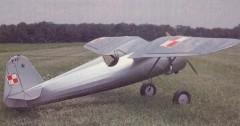 P.Z.L. P-11c model airplane plan