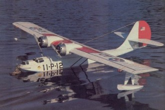 PBY-2 Catalina model airplane plan