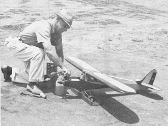 Pacemaker II model airplane plan