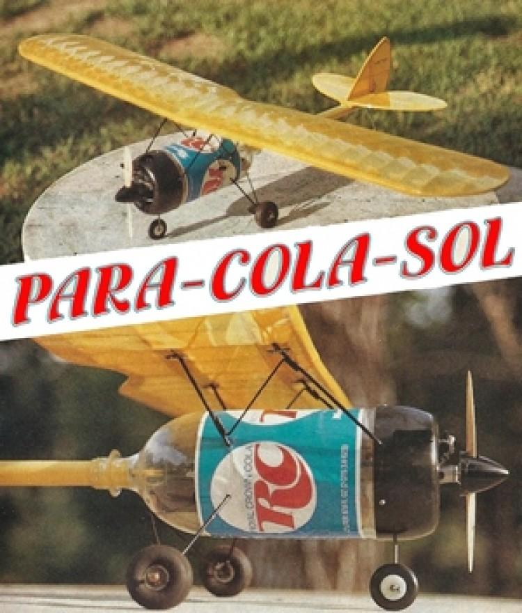 Para-Cola-Sol model airplane plan