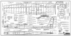 Paradox model airplane plan