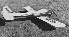 Patriot model airplane plan