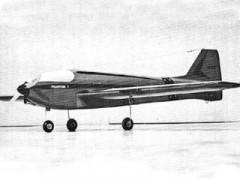 Phantom I model airplane plan