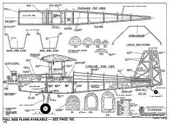 Pharaoh-RCM-04-94-1166 model airplane plan