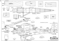 Pietenpol Four model airplane plan