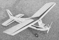 Pikolo model airplane plan