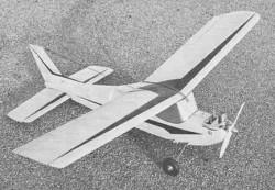 Pikolo model airplane plan