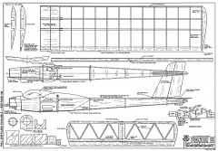 Pioneer 15-RCM-700 model airplane plan
