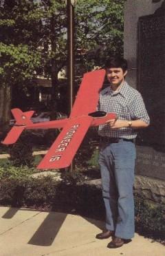 Pioneer 15 model airplane plan