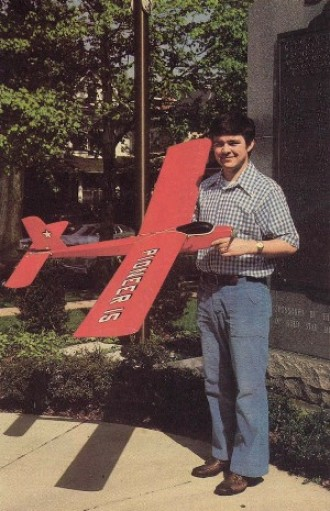 Pioneer 15 model airplane plan