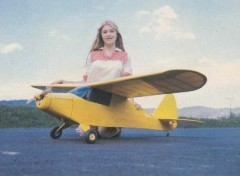 Piper Vagabond model airplane plan