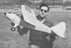 Piper Vagabond model airplane plan