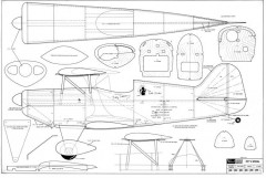 Pitts Special Ziroli model airplane plan