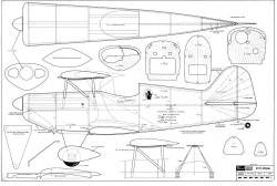 Pitts Special Ziroli model airplane plan