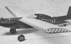 Plymate model airplane plan