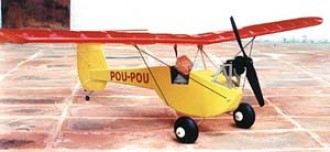 Pou Pou model airplane plan