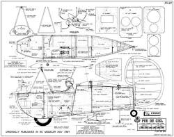 Le Pou Du Ciel model airplane plan