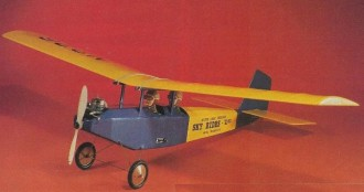 Prairie Canary model airplane plan
