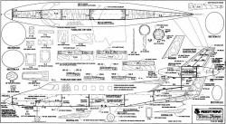 Prescott Propjet 1 model airplane plan