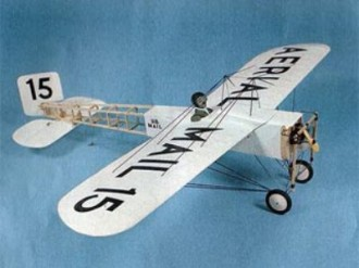 Puffin model airplane plan