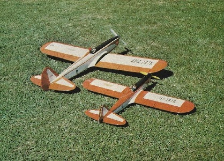 Puffin II model airplane plan