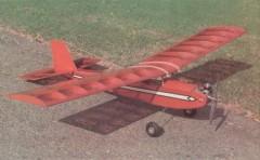 Q Tee model airplane plan