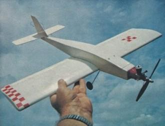 Quickie 100 model airplane plan