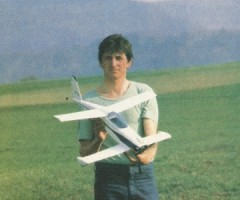 Quickie model airplane plan