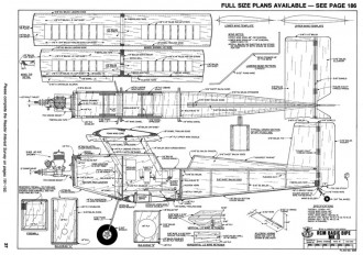 RCM Basic Bipe Mk II model airplane plan