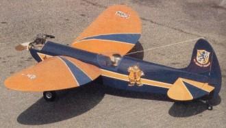 RCM Clown model airplane plan