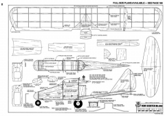 Sky Scooter RCM 12-75 622 model airplane plan