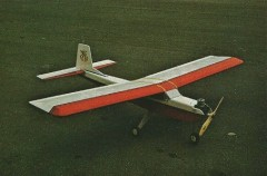 RCM Trainer Jr model airplane plan
