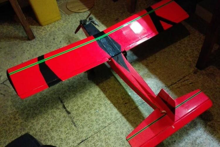 RCM Trainer model airplane plan