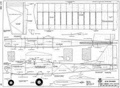 RCM Trainer model airplane plan