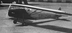 RWD-8 model airplane plan