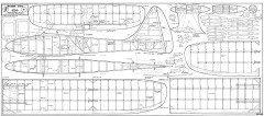 Raydic G-84 model airplane plan