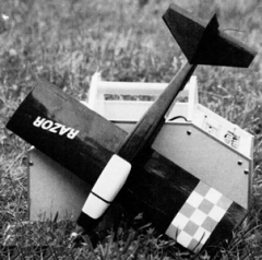 Razor model airplane plan