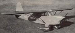 Rearwin Speedster M6000M model airplane plan