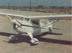 Rearwin Speedster M6000 Mini model airplane plan