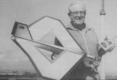 Roamin Rhombus model airplane plan