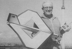 Roamin Rhombus model airplane plan