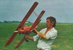Rodeo model airplane plan