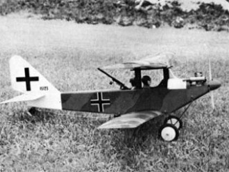 Rumplestadt C Type model airplane plan