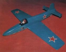 Russian CP-1 model airplane plan