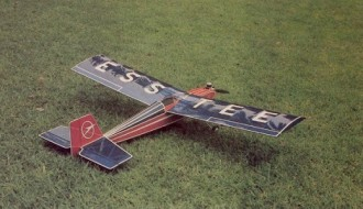 S-Tee model airplane plan