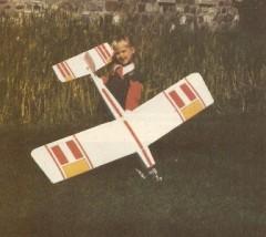 SD-500 MK II model airplane plan